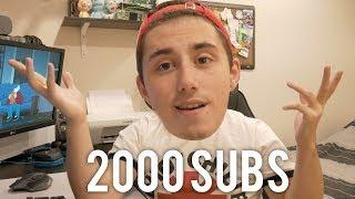2000 Subscribers!!! GGEZ