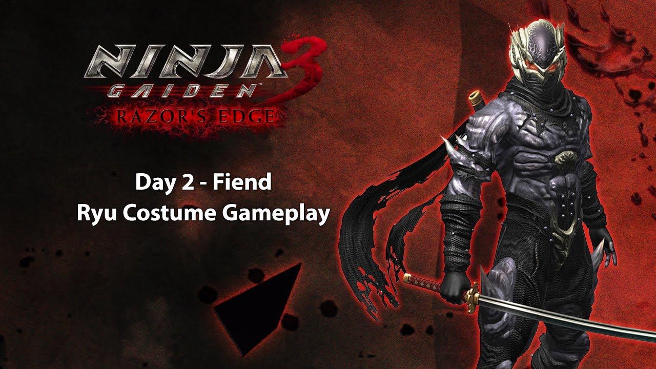 Ninja Gaiden 3 Razor S Edge Ps3 Day 2 Fiend Ryu Youtube