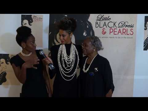Little Black Dress and Pearls Interview the Gibson's 1