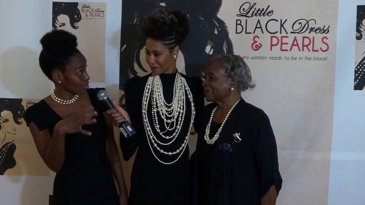 5237cc925b4 Little Black Dress and Pearls Interview the Gibson s 1 - YouTube