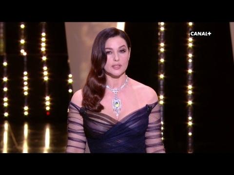 Discours d'ouverture de Monica Belluci pour les 70 ans du Festival de Cannes