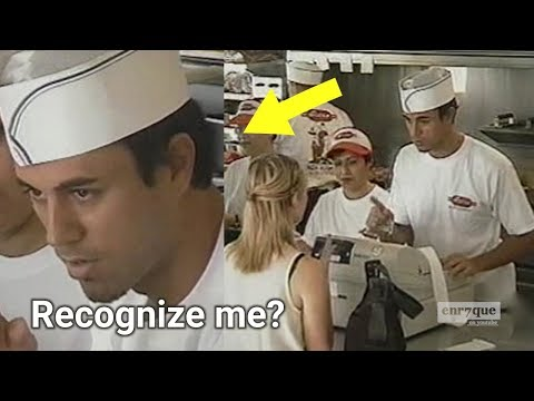 Enrique Iglesias Sells Burgers, Hits on Women and Pranks Elderly