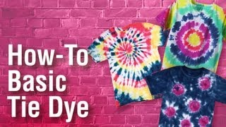 How-To Tulip Tie-Dye Basics Extended Version
