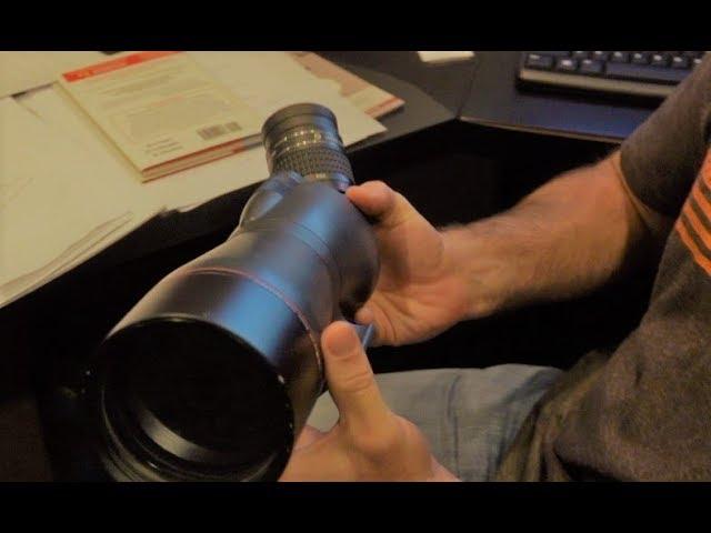 Athlon Optics Customer Testimonial From Shonn Roberts & Cronus Spotting Scope