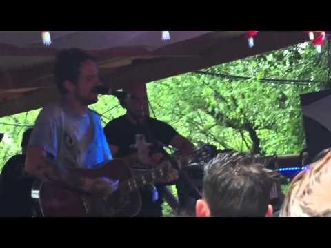 Frank Turner Love Ire and Song at Strummerville Glastonbury 2015