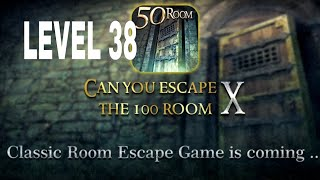 Can You Escape The 100 room X level 38 Walkthrough