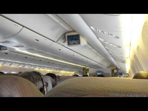 Emirates Economy Larnaca-Malta (Boeing 777-200) video report (Mar 2014)