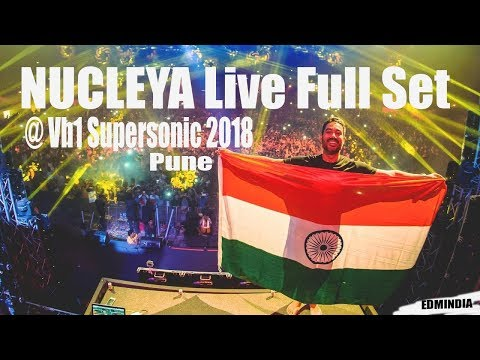 Nucleya Live @ Vh1 Supersonic 2018 Pune India(Exclusive)