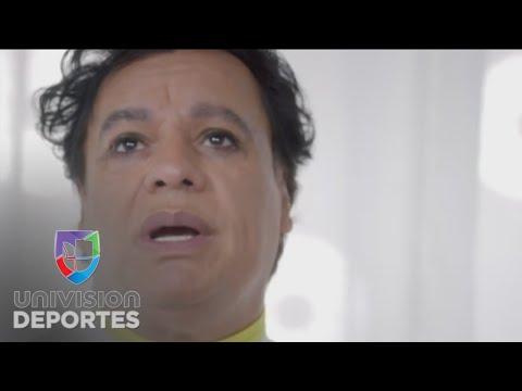El mundo del deporte despidi al cantautor Juan Gabriel