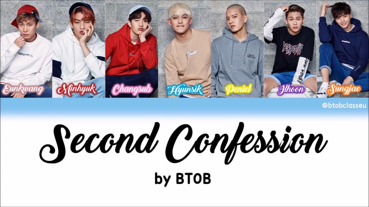 Imagini pentru btob 2nd confession album