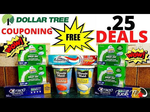 💥DOLLAR TREE COUPONING | FREE DEALS And .25 DEALS💥HOT DEALS AND STEALS AT DOLLAR TREE WITH COUPONS💥🔥