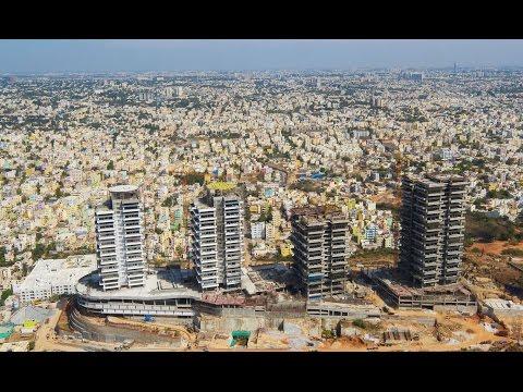 THE PROMONT - Residences on Promont Hill at Banashankari Bengaluru - Drone Video