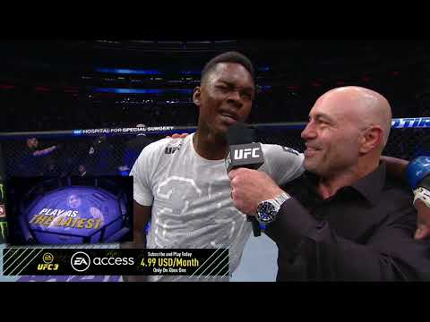 UFC 230: Israel Adesanya Octagon Interview