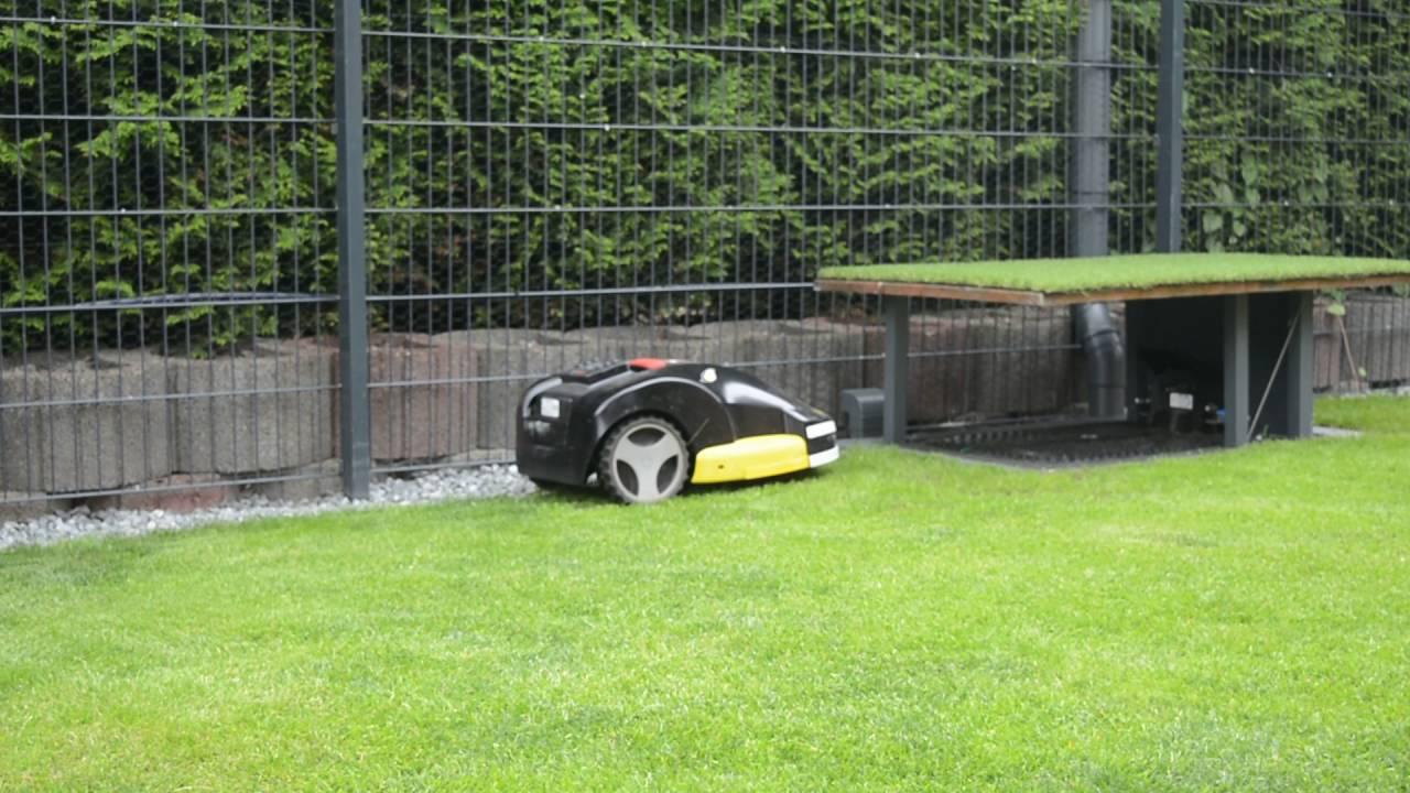 Bosch Indego Mahroboter Tiefgarage Garage Indego Lift