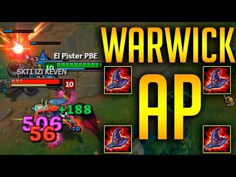 WARWICK AP - ¡DAÑO IMPRESIONANTE!