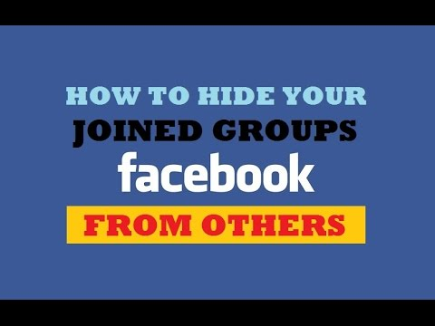 How can i see my groups on facebook