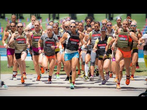 Women's Murph - 2015 Reebok CrossFit Games