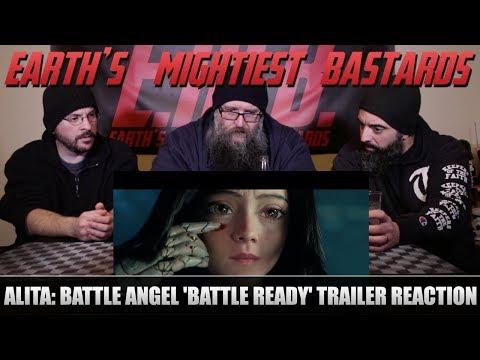 Trailer Reaction: Alita: Battle Angel Trailer Battle Ready