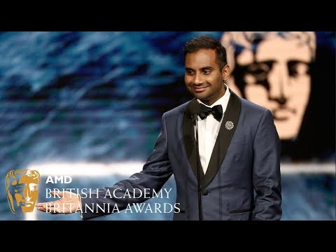 Aziz Ansari acceptance speech at the Britannia Awards