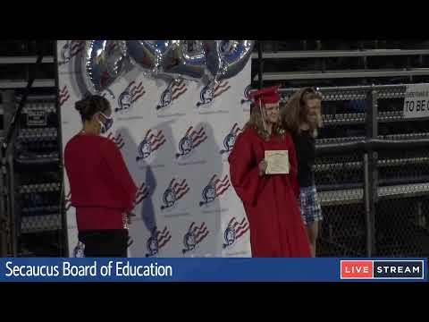 Secaucus Middle School Graduation Ceremony 7:30PM