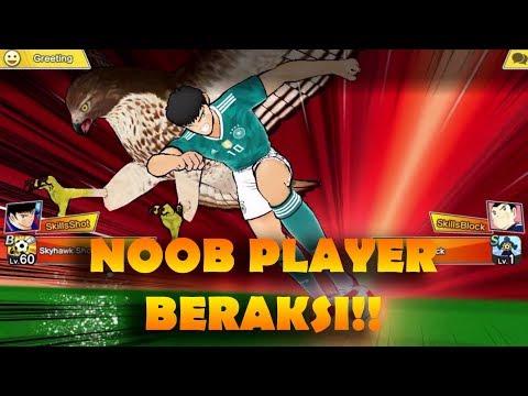 TUTORIAL MENJADI SPAMMER DARI NOOB PLAYER! XD - Captain Tsubasa: Dream Team (Online Match)