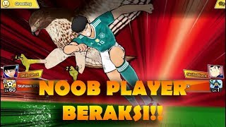 TUTORIAL MENJADI SPAMMER DARI NOOB PLAYER! XD - Captain Tsubasa: Dream Team (Online Match)