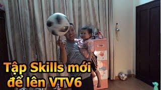 Thử Thách Bóng Đá Đỗ Kim Phúc tập skills mới để chuẩn bị lên TV bữa trưa vui vẻ  - DKP Việt Nam