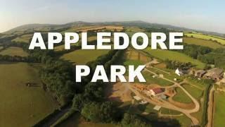 Caravanning Camping Okehampton Devon Aerial Views Appledore Park