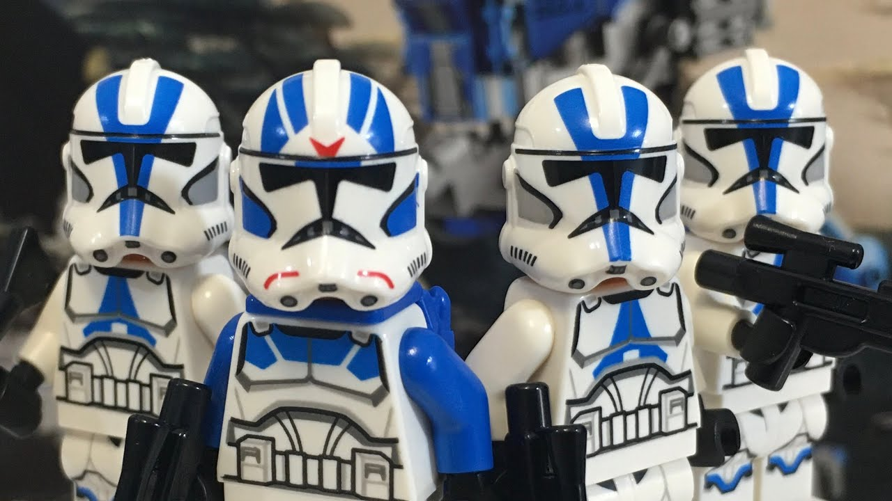 LEGO Star Wars 2020 501st Legion Clone Troopers Review! 75280