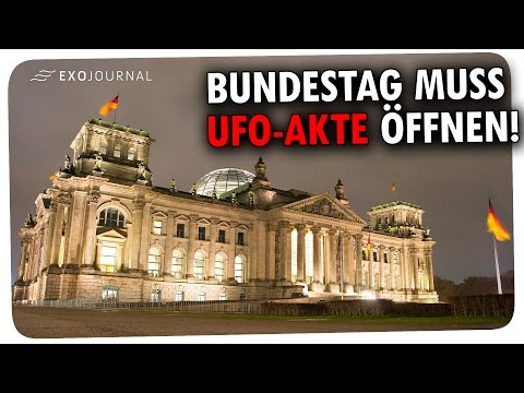 Bundestag muss geheime UFO-Akte rausrücken!