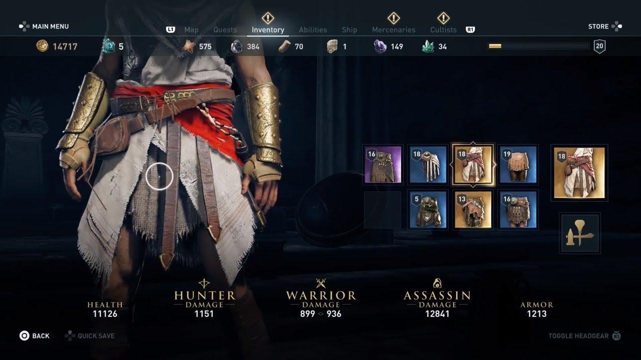 Assassin's Creed Odyssey - Pilgrim's Belt Location (Legendary Waist Armour)