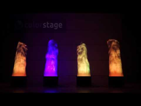 Colorstage LED FLAME TOWER RGB DMX