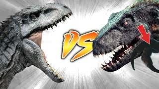 Indoraptor VS Indominus Rex PART 2 [Who Would Win?]