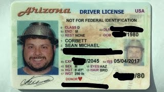 'Pastafarian' gets his AZ driver's license photo taken wearing a colander