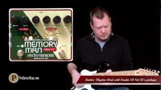 Electro-Harmonix Deluxe Memory Man 550 Tap Tempo
