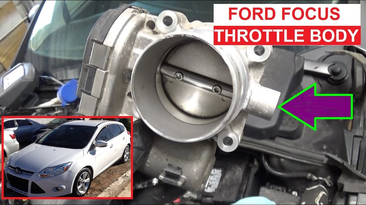 2013 Ford Focus Sfe Engine Diagram Diy Enthusiasts Wiring Diagrams 2014 Motor Throttle Body Replacement Mk3 Mkiii 2011 2012 Rh Youtube Com Se Cover
