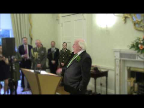 Speech at a St. Patricks Day Reception on Science and Technology
