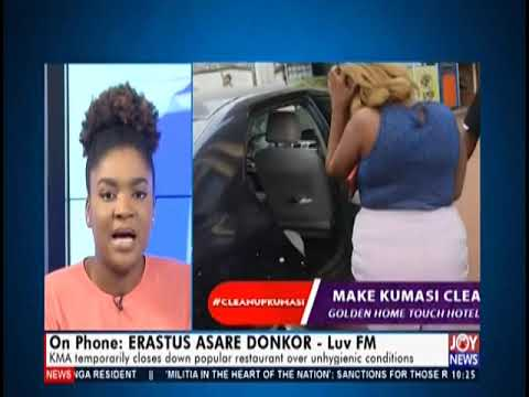 Sanitation In Kumasi - News Desk on JoyNews (31-7-19)