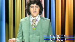 Jay Leno's First Stand up Comedy Appearance on Johnny Carson's Tonight Show 1977