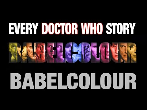 Every Doctor Who Story - by Babelcolour