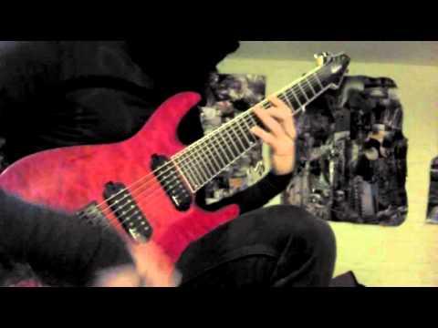 Grimes- REALiTi (8-string guitar cover)