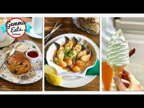 Gemma Eats...Ireland | Travel Food Show IRISH Scones, Seafood & Desserts