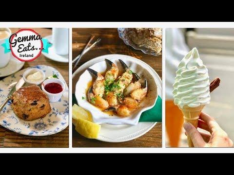 Gemma Eats...Ireland | Travel Food Show IRISH Scones, Seafood & Desserts