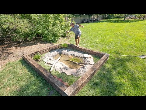 Building A MINI Turtle Pond (AMAZING)