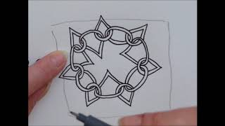 How to draw pattern Waybop 2