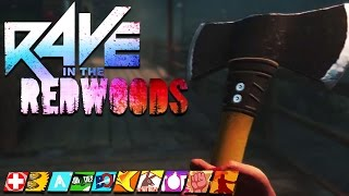 """EVERYTHING ABOUT """"RAVE IN THE REDWOODS"""" ZOMBIES DLC #1! (Infinite Warfare Zombies DLC #1)"""