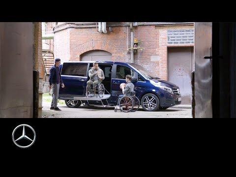 Mercedes-BenzV-ClasswithEx-FactoryDrivingAidsforpeoplewithdisabilities