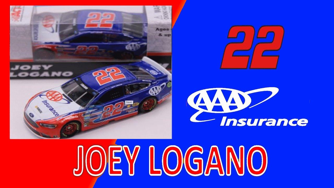 Joey Logano 2017 AAA 1:64 Nascar Diecast
