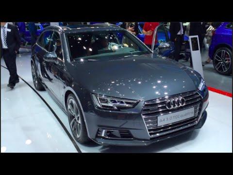 Audi A4 Avant 30 Tdi Quattro 2016 In Detail Review Walkaround