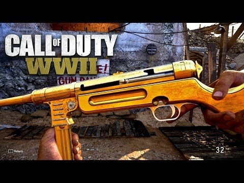 ROAD TO CHROME (GOLD MP-40) - Call of Duty: WW2 Multiplayer Gameplay PS4 PRO